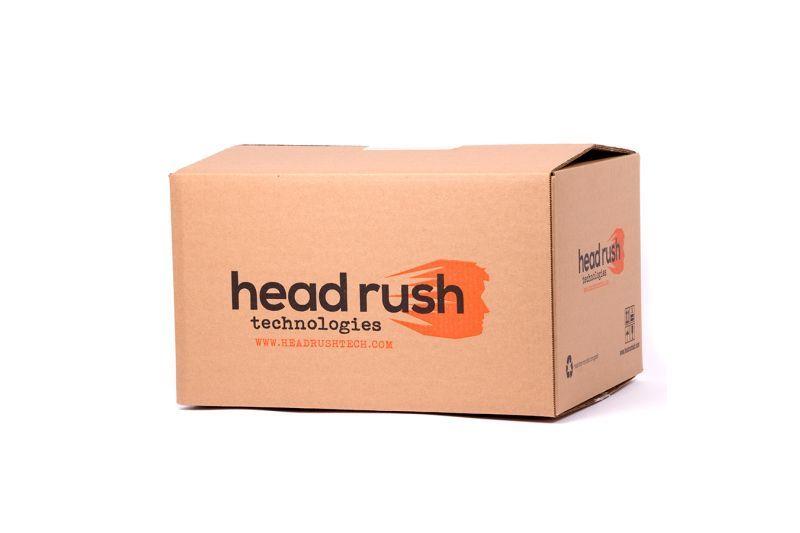 HRT BOX - WITH FOAM INSERTS HEAD RUSH TECHNOLOGIES